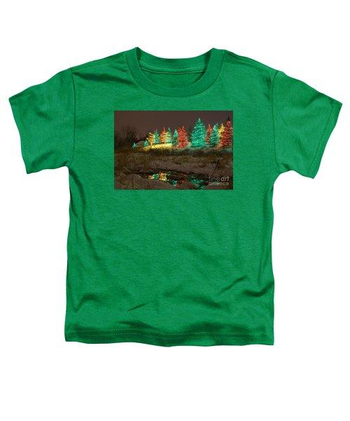 Whimsical Christmas Lights Toddler T-Shirt