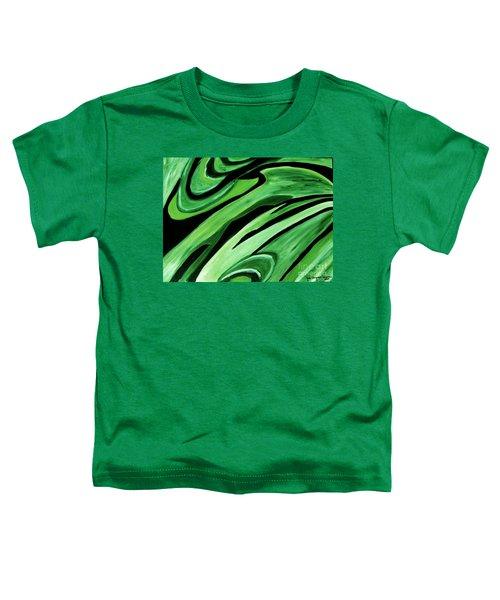 Wild Green Toddler T-Shirt