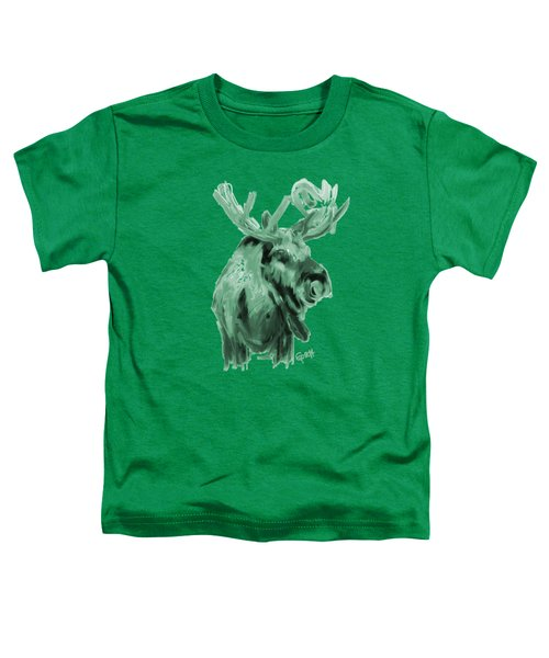 Toddler T-Shirt featuring the painting Xmas Moos by Go Van Kampen