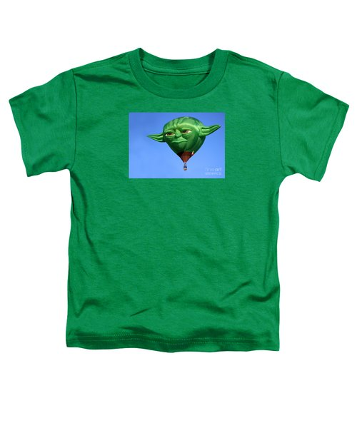 Yoda In The Sky Toddler T-Shirt