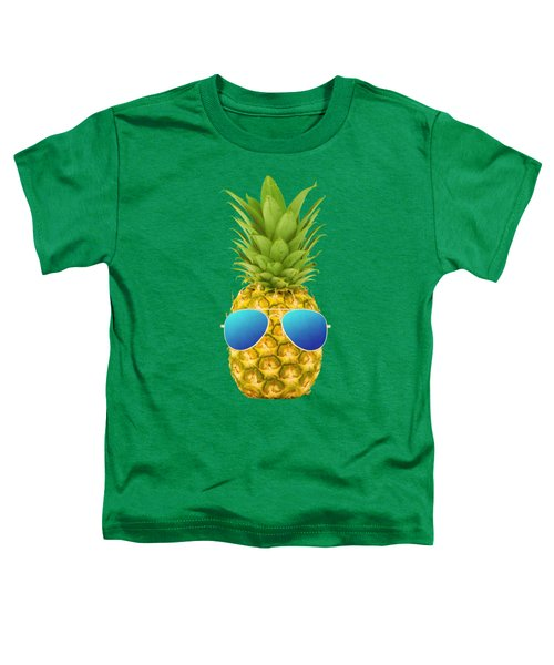 Cool Pineapple Toddler T-Shirt