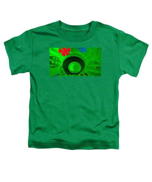 Inside The Green Balloon Toddler T-Shirt