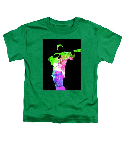 Johnny Watercolor II Toddler T-Shirt