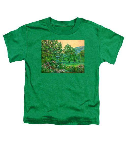 Park Road In Radford Toddler T-Shirt