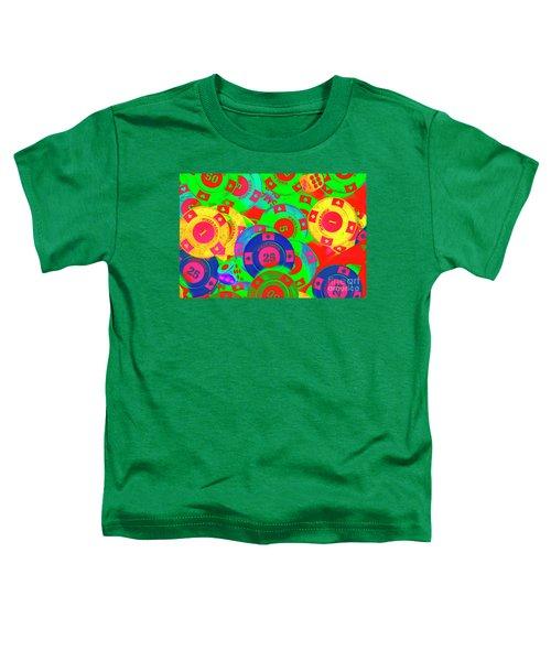Poker Stacks Toddler T-Shirt