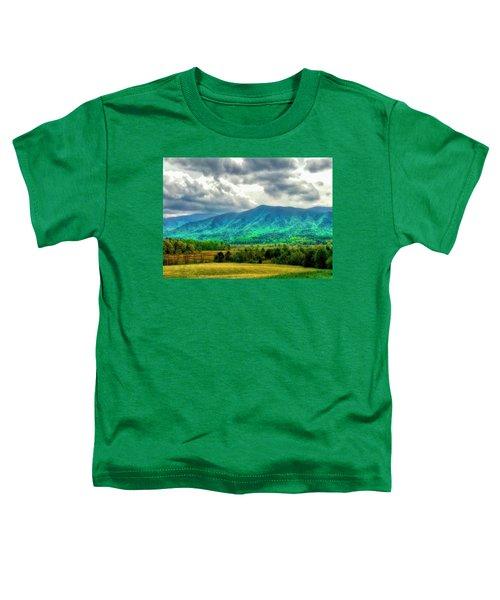 Smoky Mountain Farm Land Toddler T-Shirt
