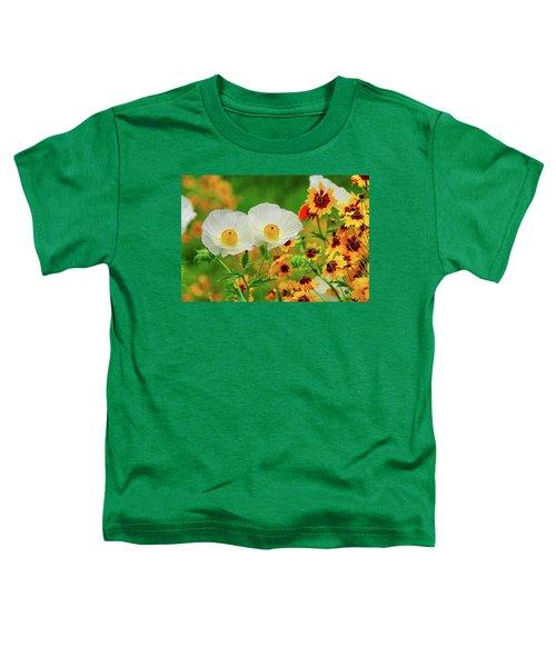 Texas Wildflowers Toddler T-Shirt