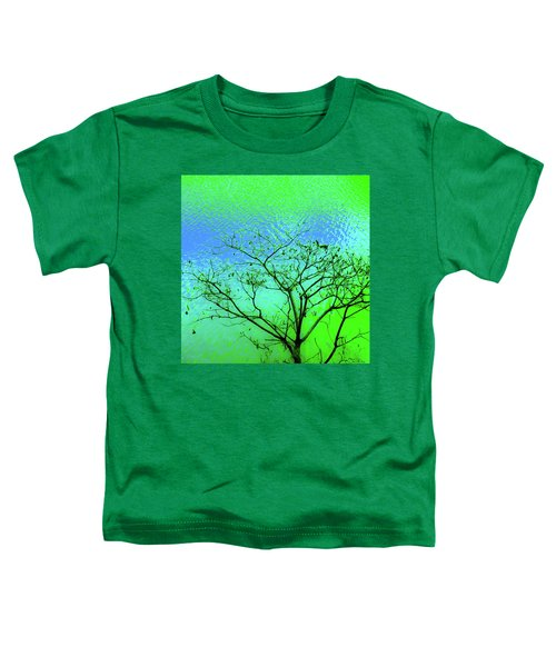 Tree And Water 3 Toddler T-Shirt