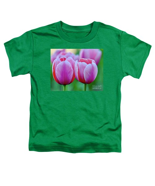 Two Tulips Toddler T-Shirt