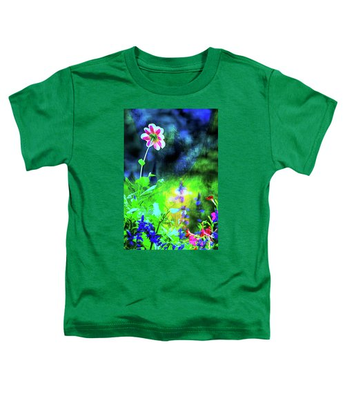 Underwater Garden Abstract Toddler T-Shirt