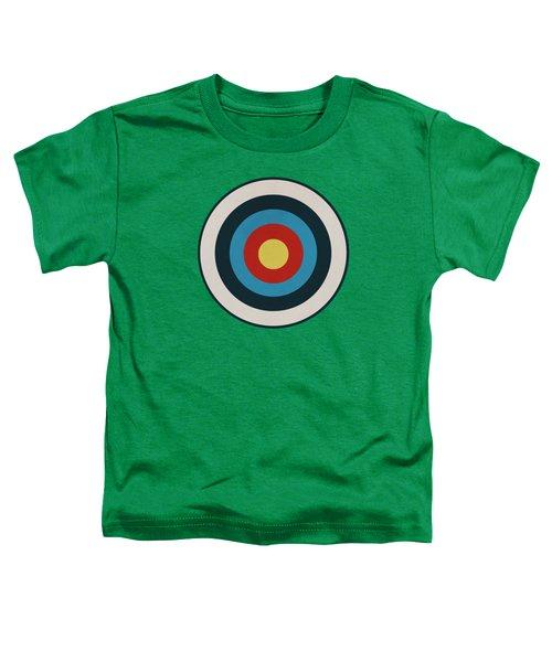Vintage Target - Green Toddler T-Shirt