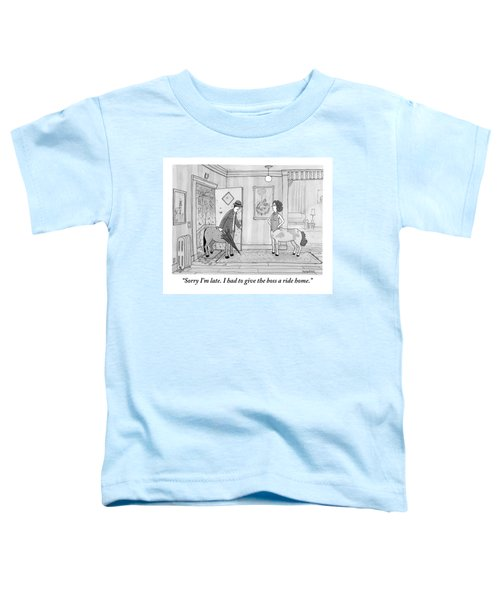 A Male Centaur Toddler T-Shirt