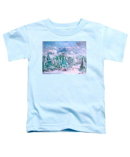 A Natural Christmas Toddler T-Shirt