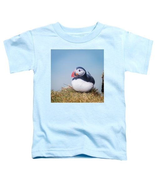 Atlantic Puffin Fratercula Arctica Toddler T-Shirt