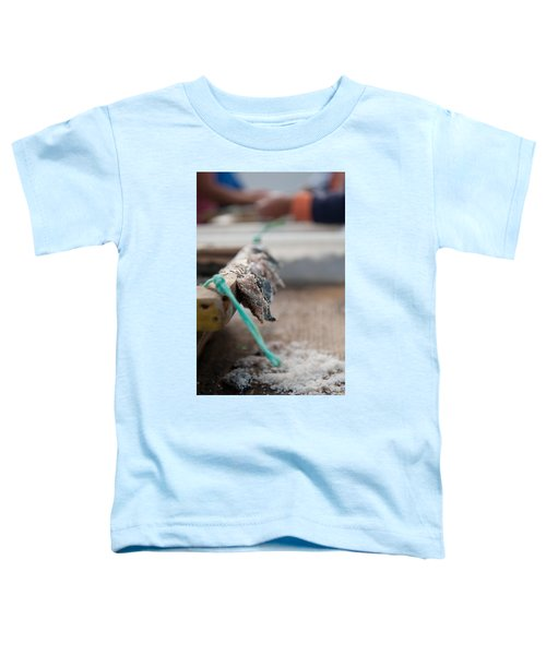 Bait On Hooks  Toddler T-Shirt
