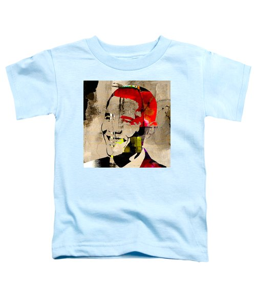 Toddler T-Shirt featuring the photograph Barack Obama by Marvin Blaine