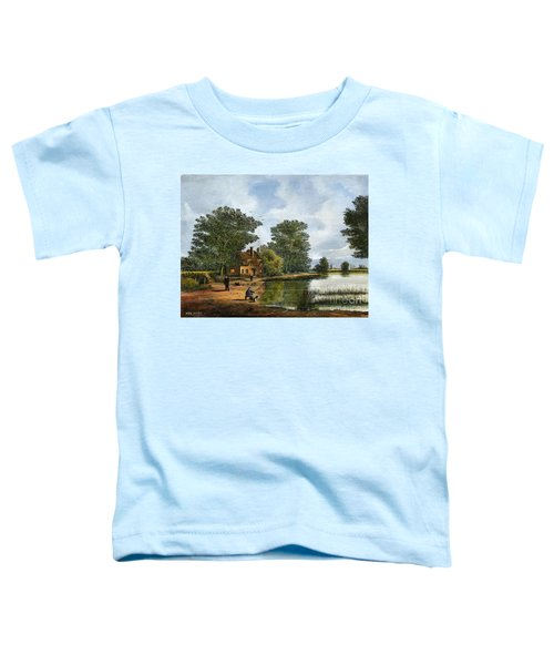 Gone Fishing Toddler T-Shirt