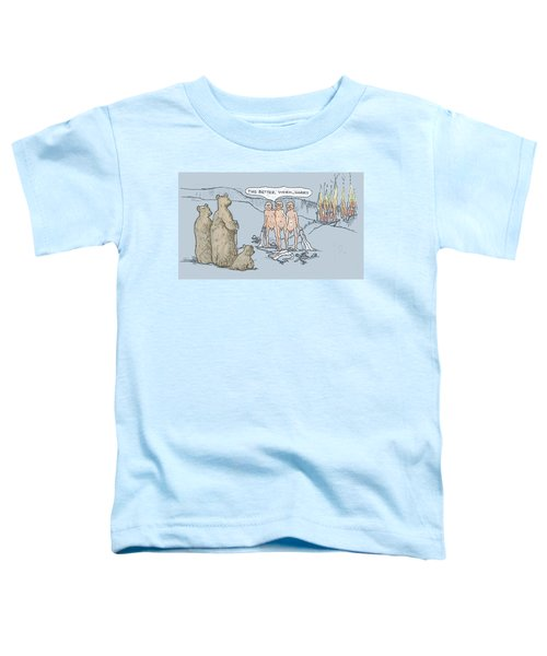 Grin And Bare It Toddler T-Shirt