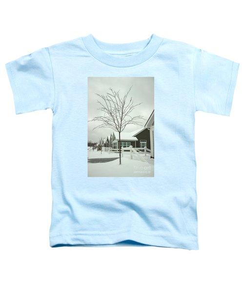 Hello Snow Toddler T-Shirt