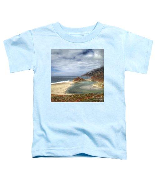 Little Sur River In Big Sur Toddler T-Shirt