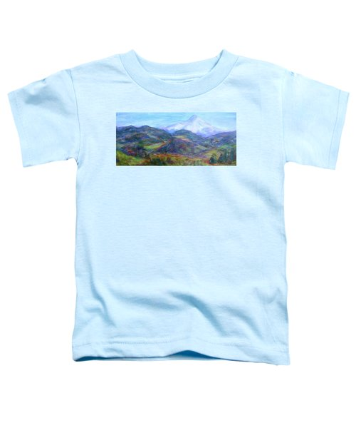 Mountain Patchwork Toddler T-Shirt