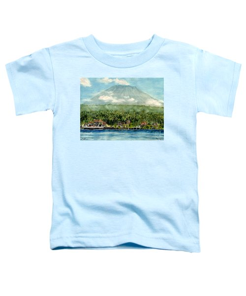 Mt. Agung Bali Indonesia Toddler T-Shirt