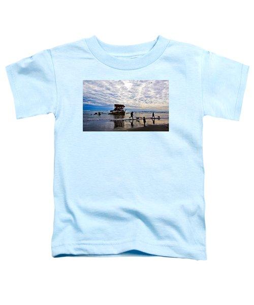 Peter Iredale Shipwreck, Fort Stevens Toddler T-Shirt