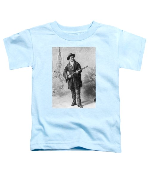 Portrait Of Calamity Jane Toddler T-Shirt by Underwood Archives