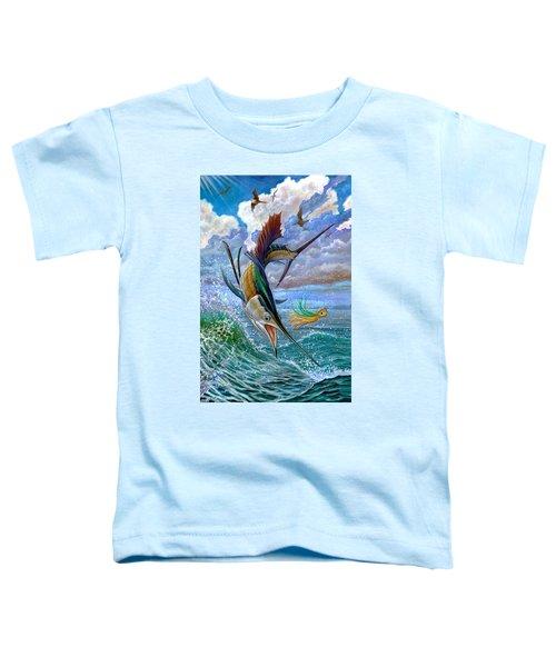 Sailfish And Lure Toddler T-Shirt