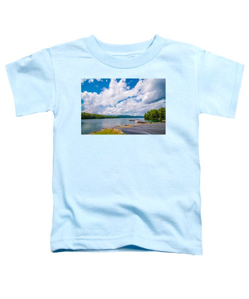 Scenery Around Lake Jocasse Gorge Toddler T-Shirt