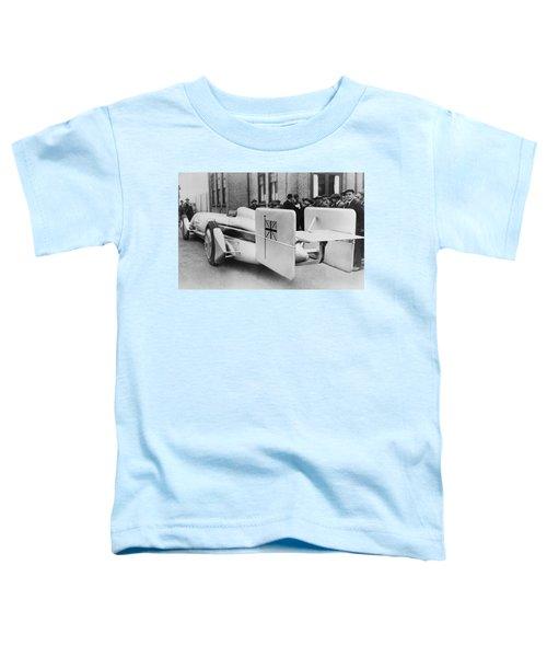 Silver Bullet Race Car Toddler T-Shirt