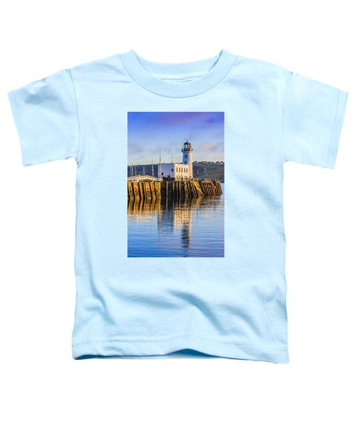 Sunset Over Scarborough Lighthouse Toddler T-Shirt