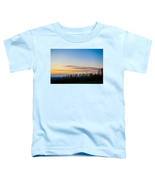 Sunset Over The Field Toddler T-Shirt