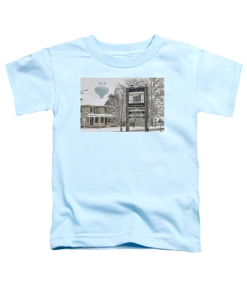 The Whitehouse Inn Sign 7034 Toddler T-Shirt by Jack Schultz