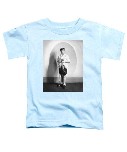 Violinist Yehudi Menuhin Toddler T-Shirt