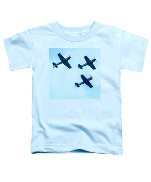 Action In The Sky During An Airshow Toddler T-Shirt