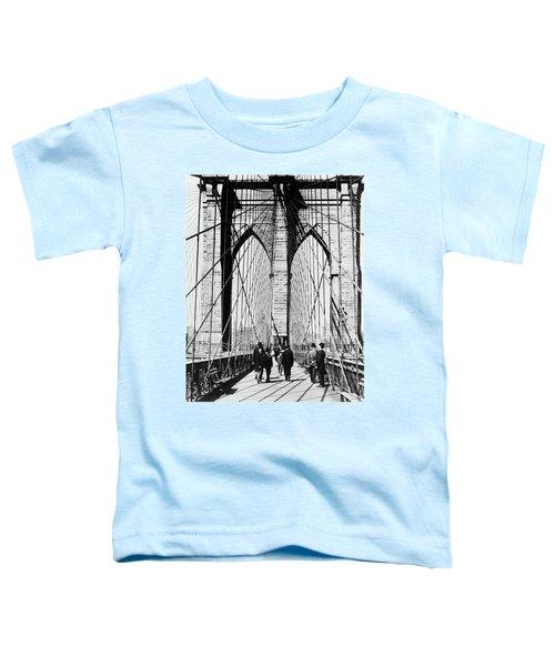 1800s 1880s Men Standing On Brooklyn Toddler T-Shirt