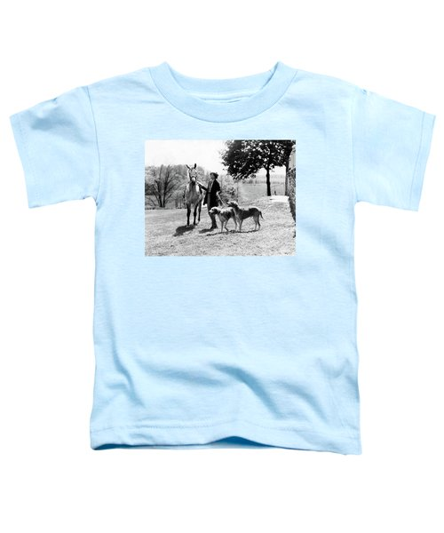 1930s Wealthy Fashionable Woman Toddler T-Shirt