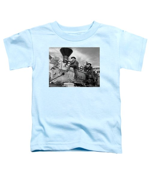 1950s 1960s Two Cowboy Bandits Western Toddler T-Shirt
