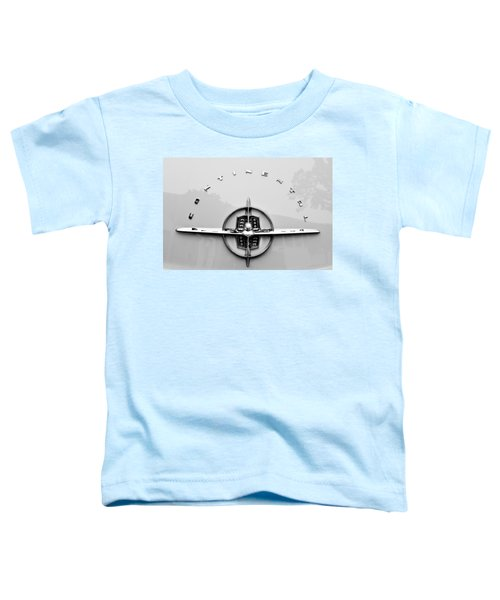1956 Lincoln Continental Rear Emblem Toddler T-Shirt