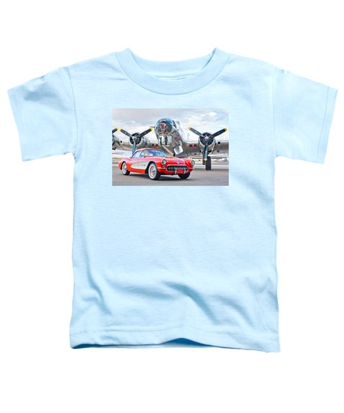 1957 Chevrolet Corvette Toddler T-Shirt