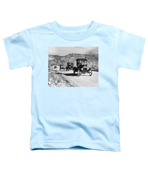 1960s Line Of 1920s Model T And 1930s Toddler T-Shirt
