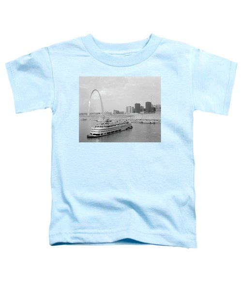 1960s St. Louis Missouri Gateway Arch Toddler T-Shirt