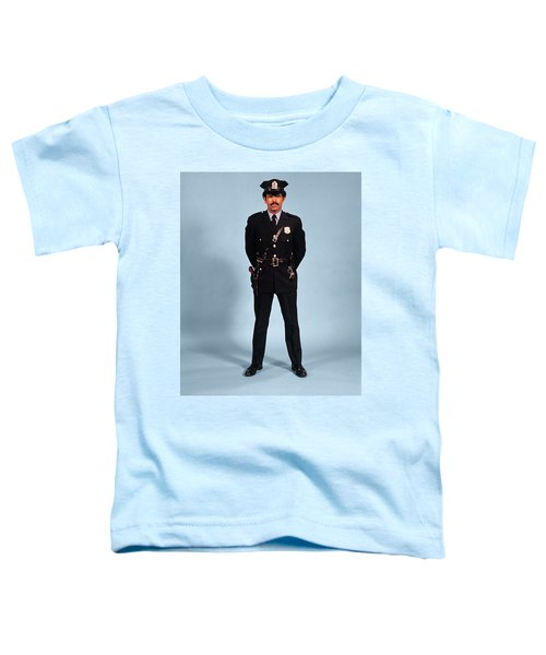 1970s African American Man Police Toddler T-Shirt