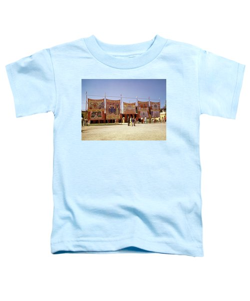 1970s Sideshow Tents Circus World Toddler T-Shirt