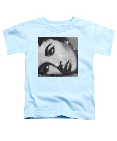 Art In The News 15-elizabeth Toddler T-Shirt