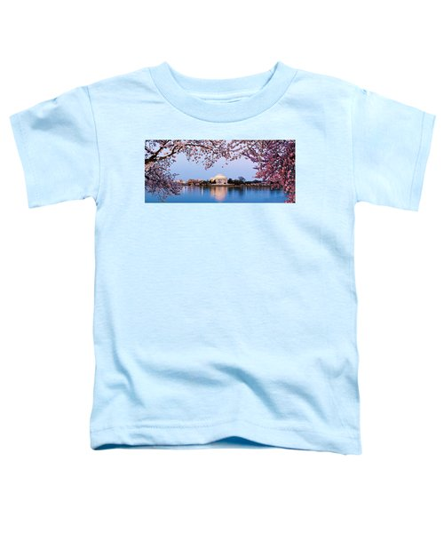 Cherry Blossom Tree With A Memorial Toddler T-Shirt