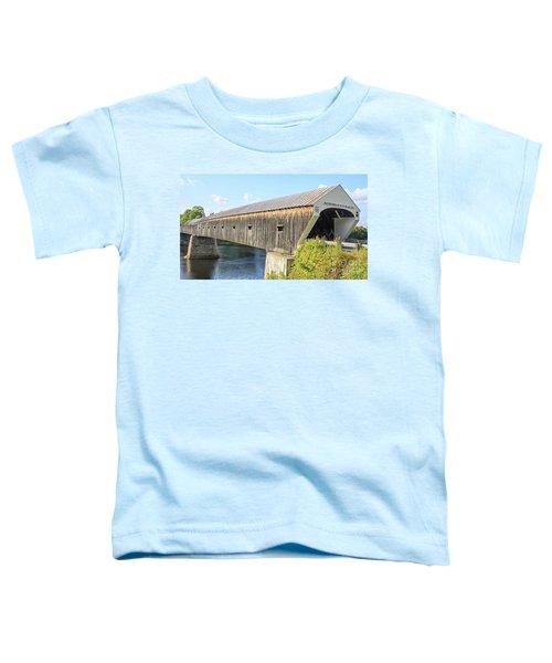 Cornish-windsor Covered Bridge IIi Toddler T-Shirt