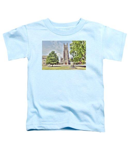 Duke Chapel In Spring Toddler T-Shirt