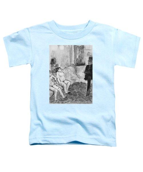 Illustration From La Maison Tellier Toddler T-Shirt